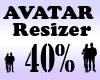 Avatar Scaler 40% / M