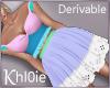 K derv sweet heart dress