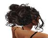 Black rose hair
