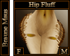 Braune Maus Hip Fluff