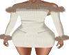 Wintertide Cream Dress