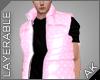 ~AK~ Puff Vest: Pink