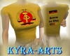 (KA)DDR(GDR)-Tee yellow