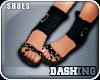 [Ds]Black Sandals;