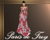 PdT Melon Hibiscus Gown