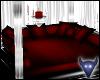 Red Satin lounge