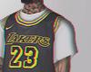 23. LAKERS BLACK