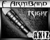 ]Akiz[ F G Armband Right