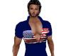 American Flag (blue)