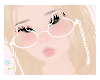 bunny glasses♡