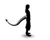Black Shadow Demon Tail