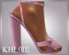 K pink spring heels