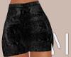 Black Snake Skirt | L