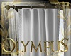 Olympus White curtains