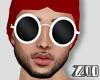 [zuv]glasses white round