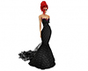 Gothic Mermaid gown
