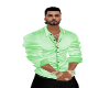 light  green  shirt