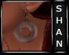 choco doughnut earrings