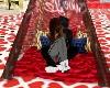 tenda love kiss kiss red