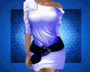 Mini Dress Blue