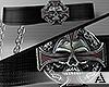 𝒜. MxA Skull Belt