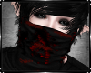 Emo Bloody Scarf