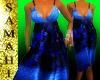 {S} Spring dress BLUE