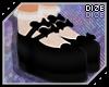 DZ  Platform Doll Black