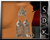 #SDK# Arabian Earrings
