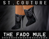 [SAINT]The Fado Mule BLK