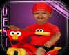 DkKymir Elmo Bike Tod