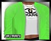 CoCo Jacket Neon Green