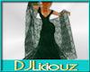 DJL-Shawl Hunter Green L