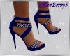 Maria Heels Blue