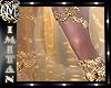 (MI) Gold boots light Fa