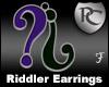 Riddler Earrings