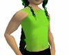 Green Mesh Top