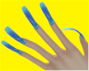 hologram nails hehe