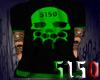 5150 Green Skull Shirt