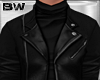 Black Cas Leather Jacket