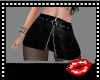 Black Zipper Rl Skirt