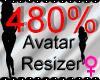 *M* Avatar Scaler 480%