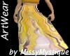 Myst Long Skirt Yellow