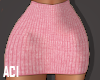 Knitted pink skirt! RXL