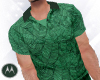 =M= Tropical green Polo