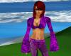 Hot Purple Crop Top