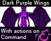 Purple Scaled Demon Wing