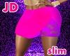 Slim Btm Firey Pink