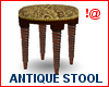 !@ Antique stool 8