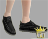 [Ou] Black Loafers